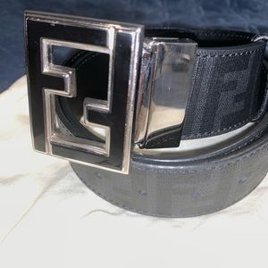 Fendi Mens Reversible Belt